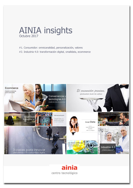 AINIA Insights III: Consumidor e Industria 4.0