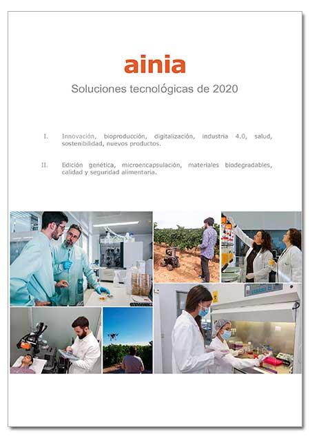 AINIA Soluciones tecnológicas de 2020