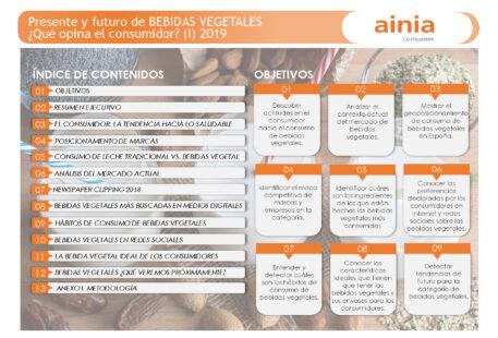 """Estudio """"Presente y futuro de las bebidas vegetales, ¿qué opina el consumidor?"""" (I)"""