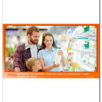 Alimentos funcionales, ¿qué son para el consumidor y qué espera de ellos?