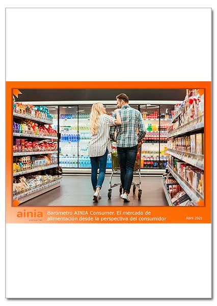 Informe barómetro consumidores AINIA 2021 Portada